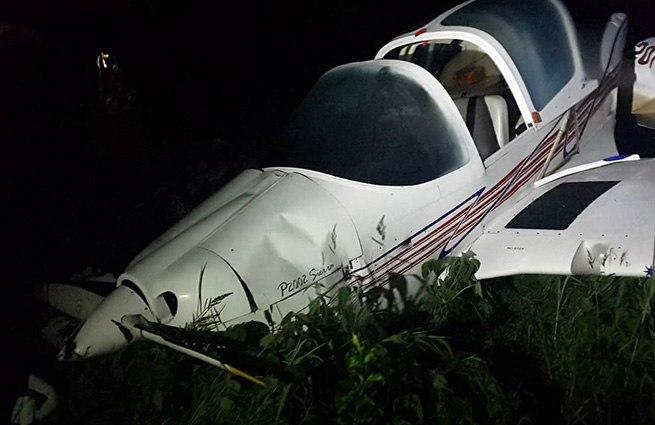 Самолёт упал в нескольких километрах от Хабаровска