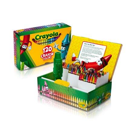 Crayola Giant Box of Crayons, 120 Count