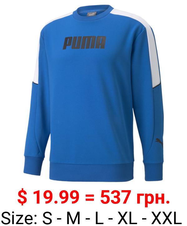 Modern Sports Crew Neck Men's Sweatshirt