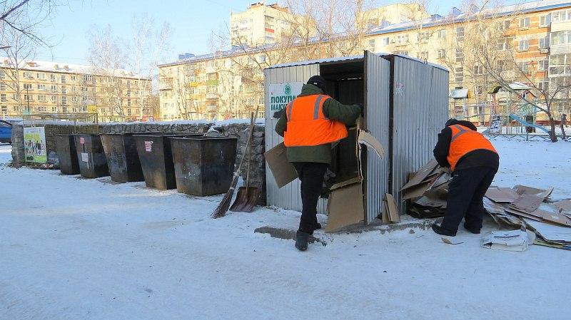 Раздельный сбор мусора внедрят в Хабаровске