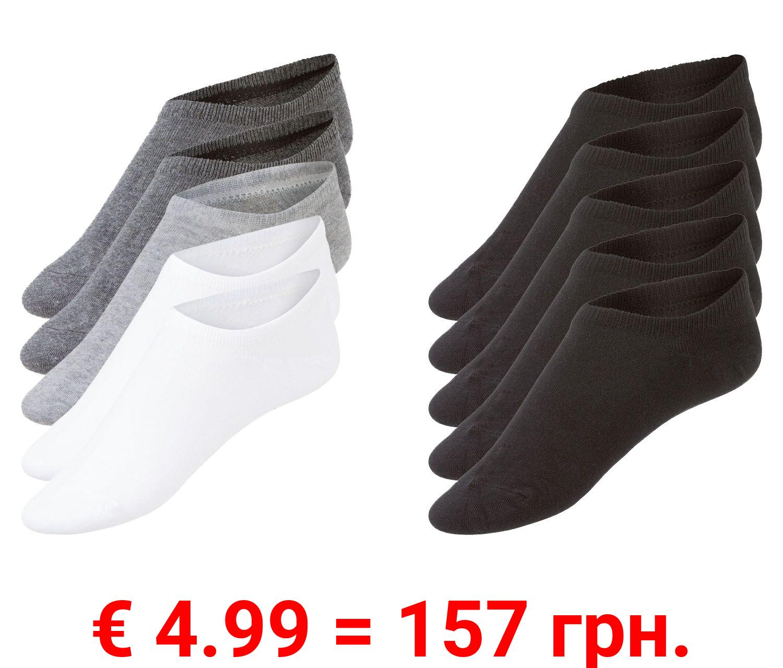 LIVERGY® 5 Herren Sneakersocken