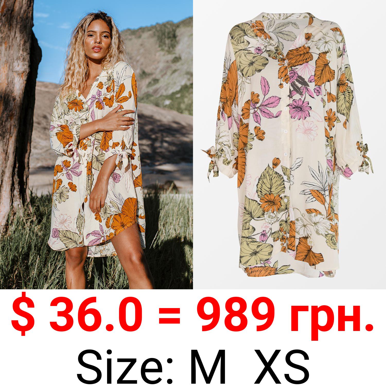 Oaklyn Floral Buttoned Shirt Dress