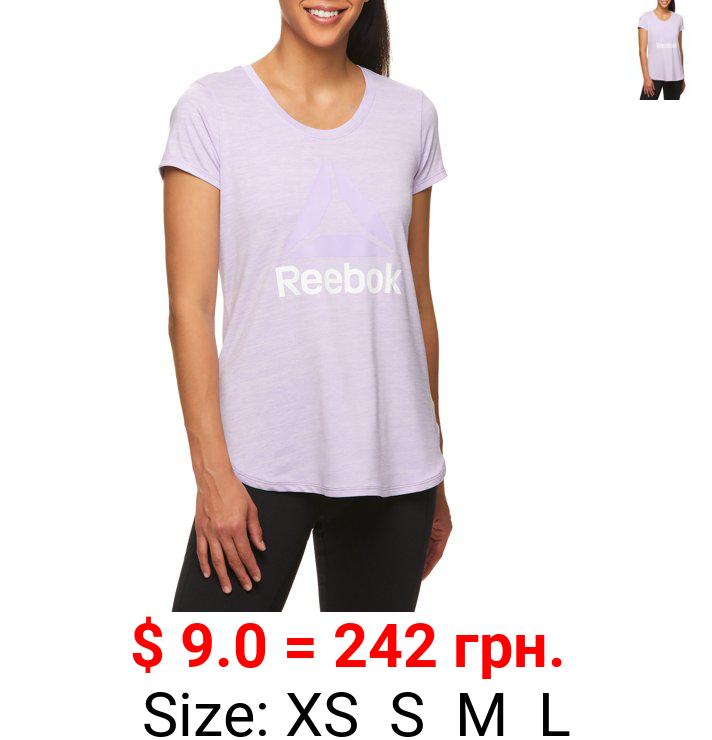 Reebok Women's Graphic Short Sleeve T-Shirt
