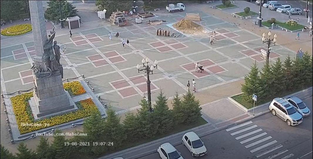 Фестиваль песчаных скульптур 2021 в Хабаровске