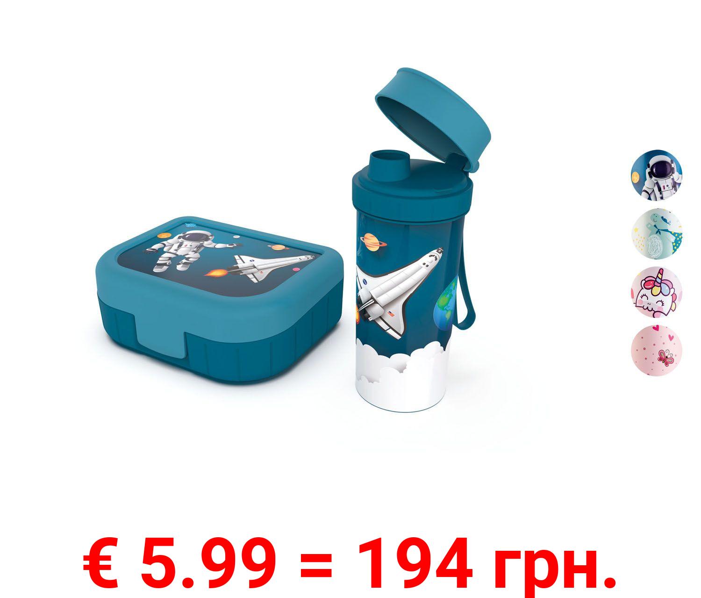 ERNESTO® Snackbox + Flasche