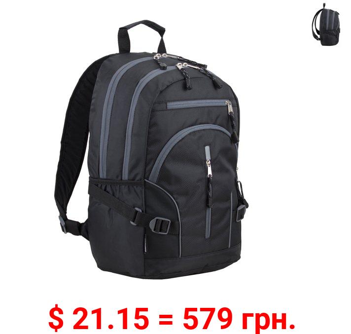 Eastsport Multi-Purpose Dynamic School Backpack, Black