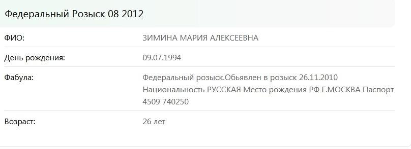Мария Зимина (Гаврилина) - шкура уже замужем 38