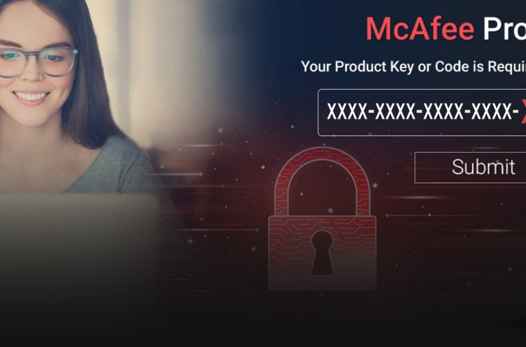 Activate-with 25 digit McAfee activation code
