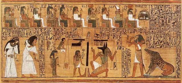 Картинки по запросу Папирус Ани и тайна крестного знамения.
