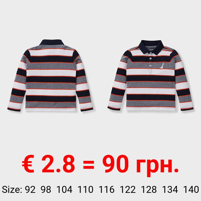 Dino - Poloshirt - gestreift