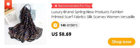 Luxury Brand Spring New Products Fashion Printed Scarf Fabrics Silk Scarves Women Versatile Kerchief Headscarf winter shawls