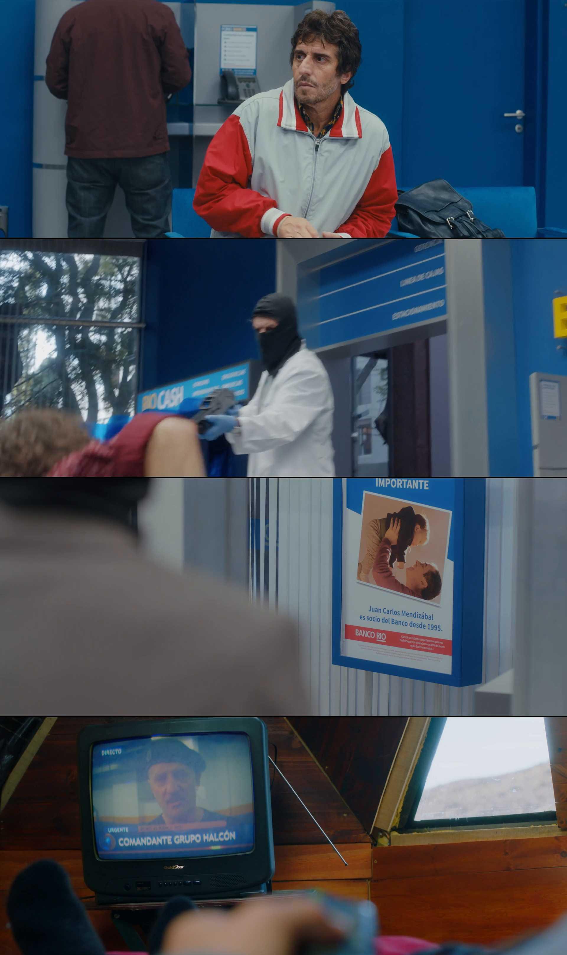 Screenshot of El robo del siglo Movie