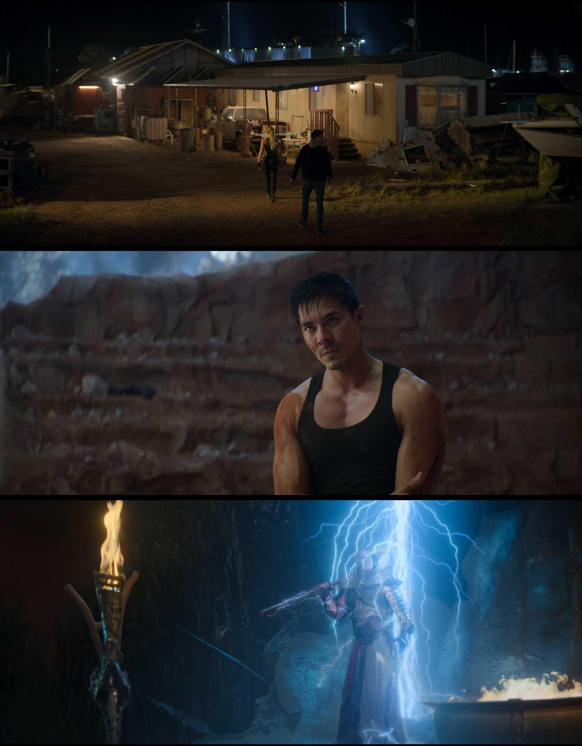 Screenshot of Mortal Kombat Movie