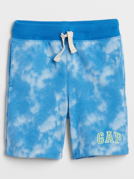 Kids Tie-Dye Gap Logo Shorts in French Terry