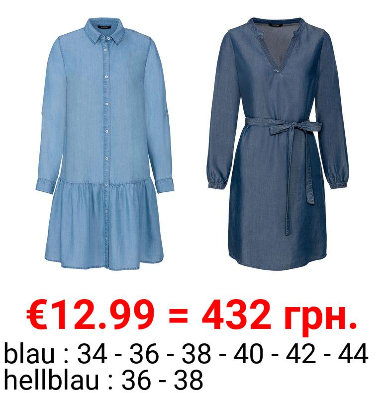 ESMARA® Damen Kleid, aus reinem Lyocell