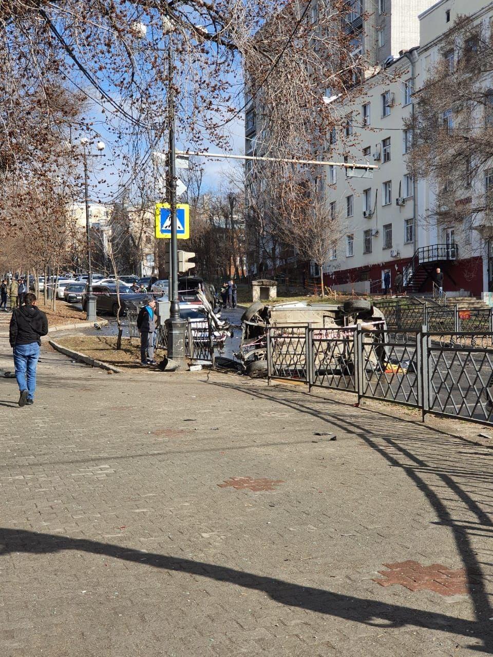 Два человека погибли в ДТП в центре Хабаровска