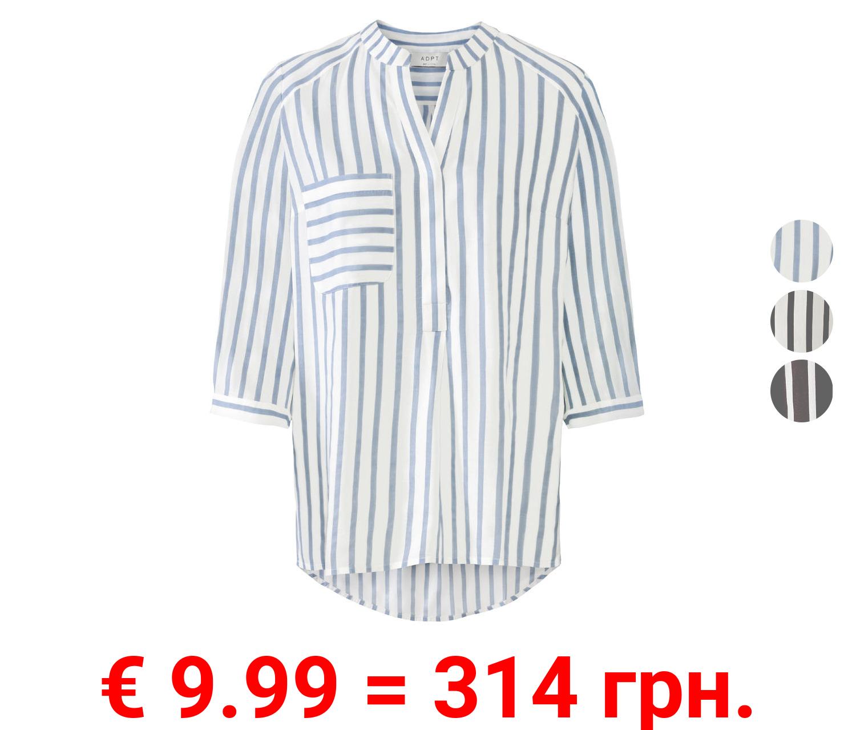 ADPT Bluse Damen, gestreift