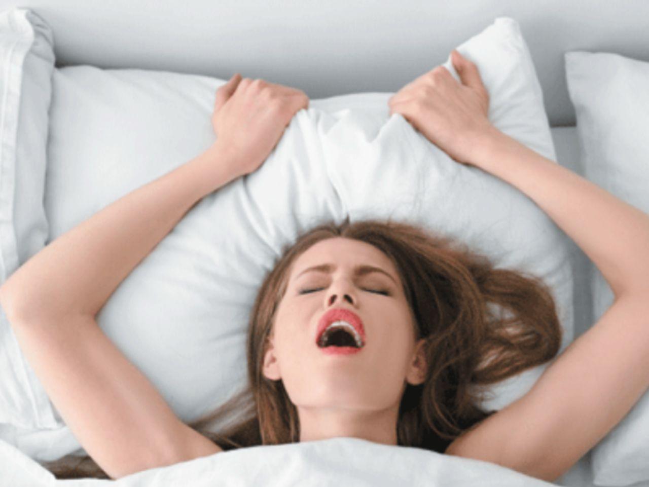 в контакте оргазм