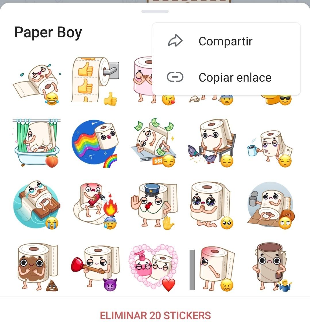 stickers animados ToDus