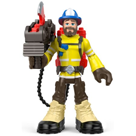 Rescue Heroes Forrest Fuego 6-Inch Figure with Accessories