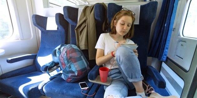 """Дальняя поездка в транспорте  -  просто скука или возможность заняться делами, которые откладывали """"на потом""""?"""