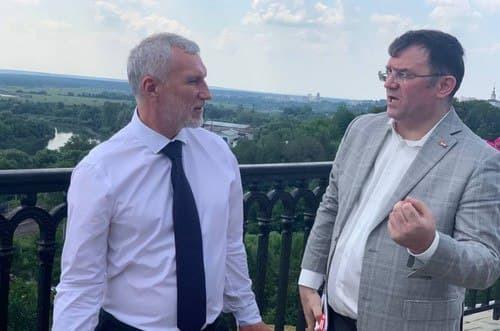 Журавлев высказался об ухудшении экологии во Владимирской области во время своего визита в регион