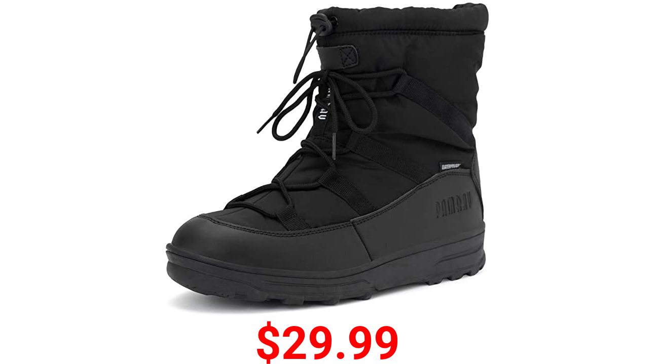 Womens Winter Boot Snow Warm Fur Lined Shoes Outdoor Waterproof Lightweight Comfortable Ankle Booties