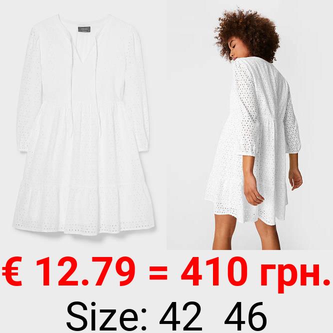 A-Linien Kleid - Bio-Baumwolle