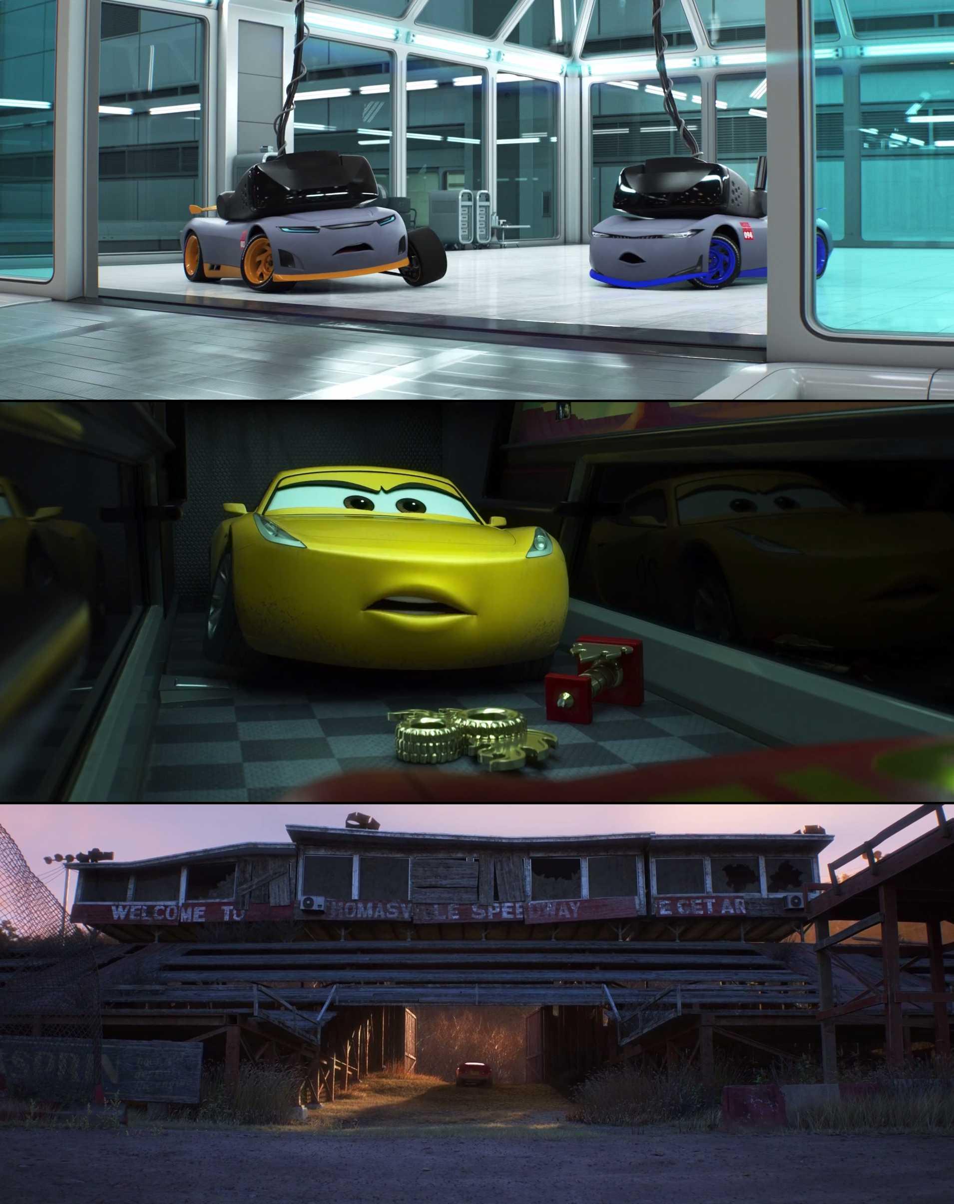 Screenshot of Cars 3