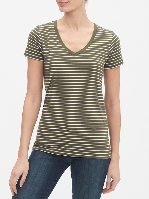 Favorite Stripe Short Sleeve T-Shirt