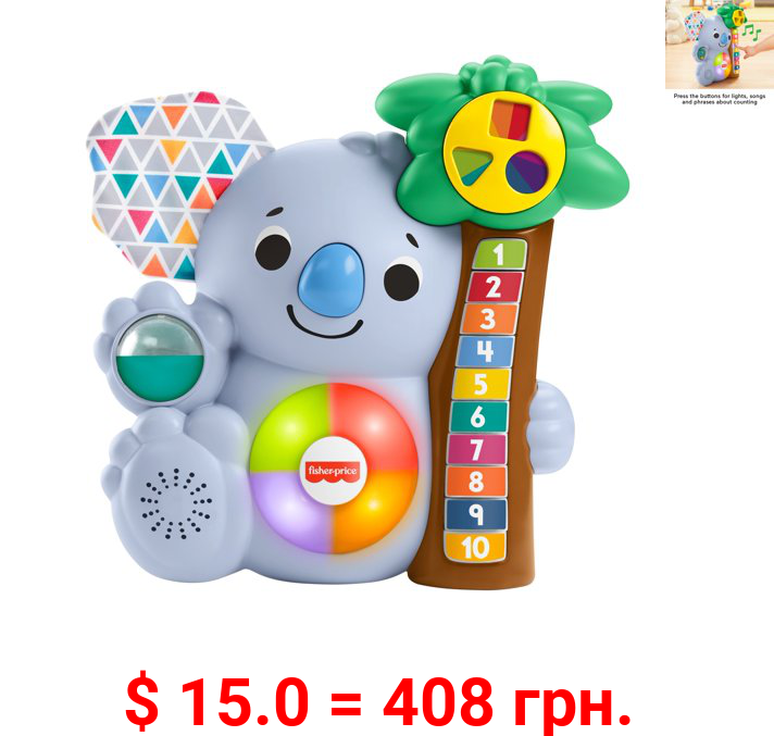 Fisher-Price Linkimals Counting Koala Musical Infant Toy