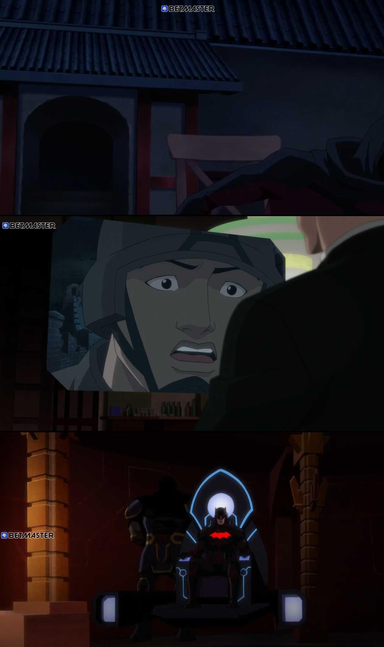 Screenshot of Justice League Dark: Apokolips War Movie