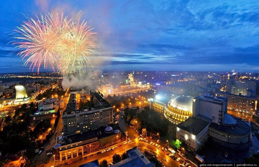 Фейерверк в поддержку Сергея Фургала устроят в Новосибирске