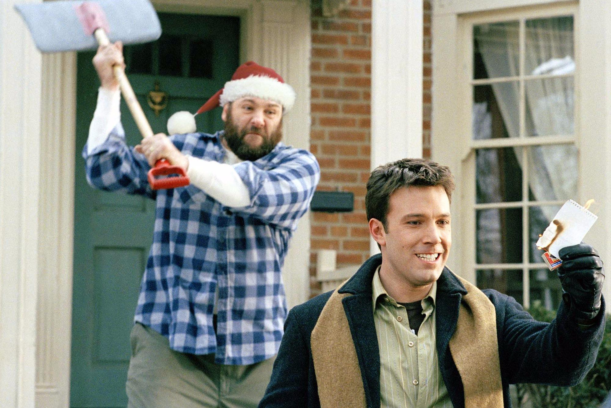 кадры из фильма Пережить Рождество