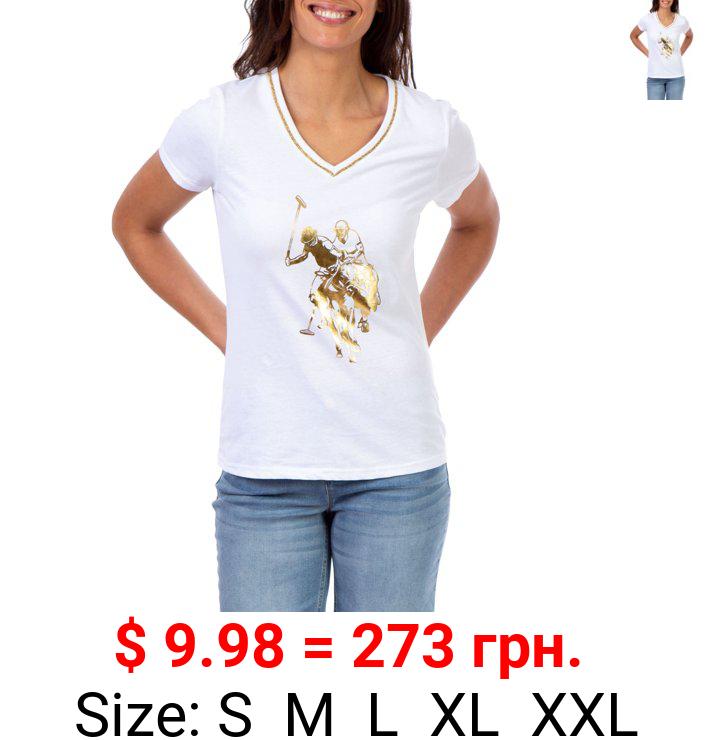 U.S. Polo Assn. Large Logo Tee Women's
