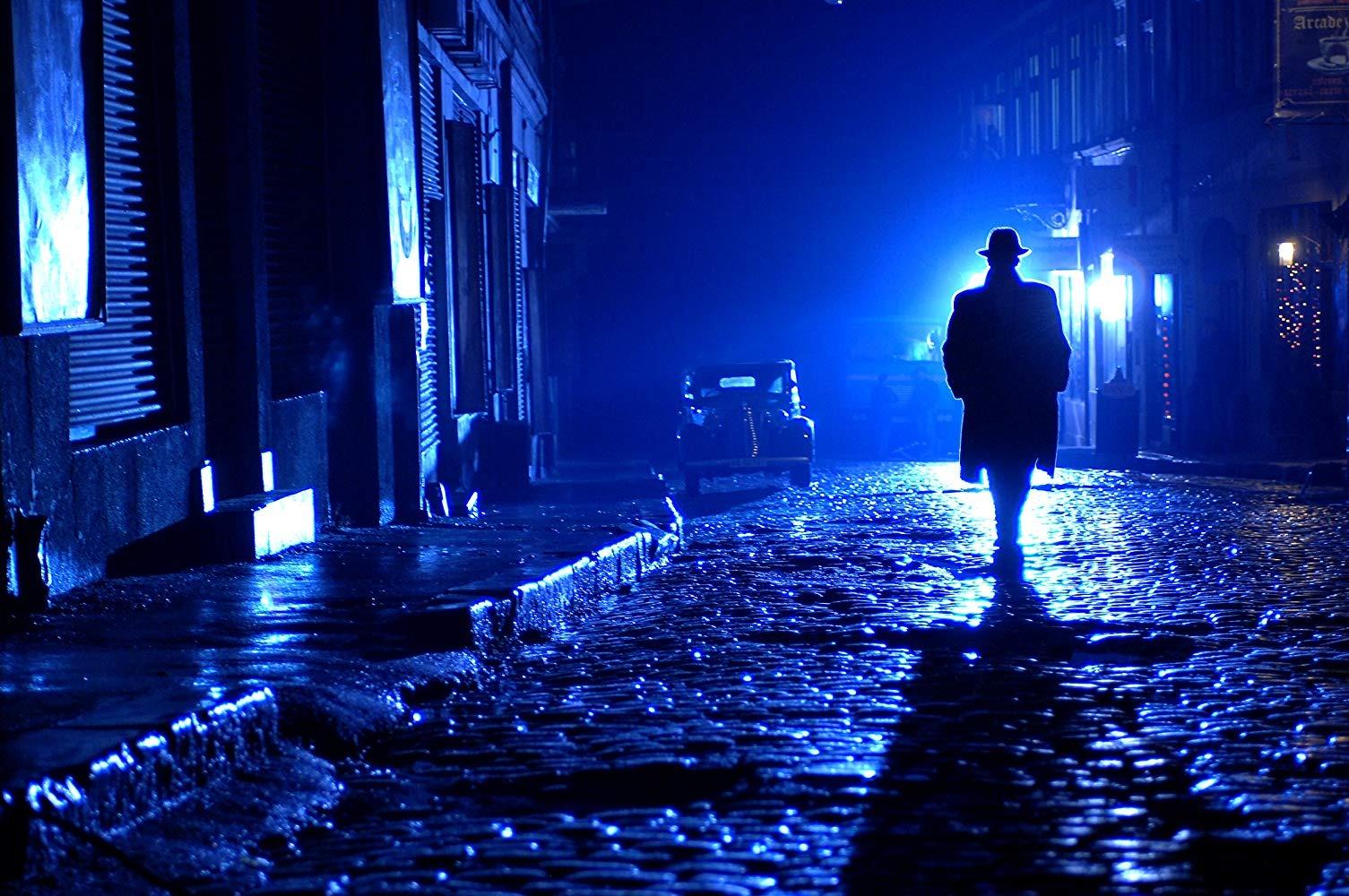 голубого мужчина один ночью картинки просто сказка