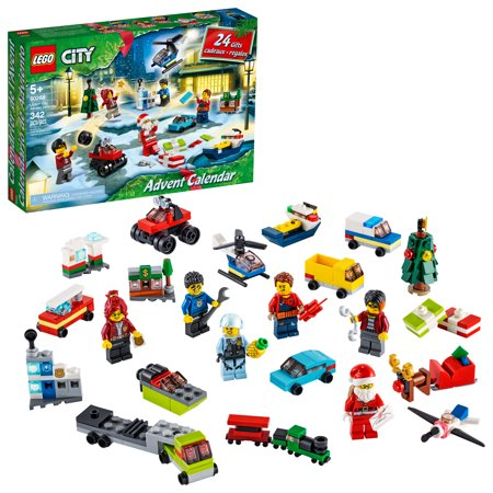 LEGO City Advent Calendar 60268, With City Play Mat, Best Festive Toys for Kids (342 Pieces)