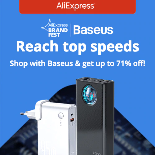 Brand Fest | Baseus  Shop with Baseus & get up to 71% off!