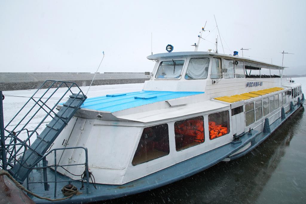 Теплоходы на левый берег будут оправляться с остановки «Прибрежная»