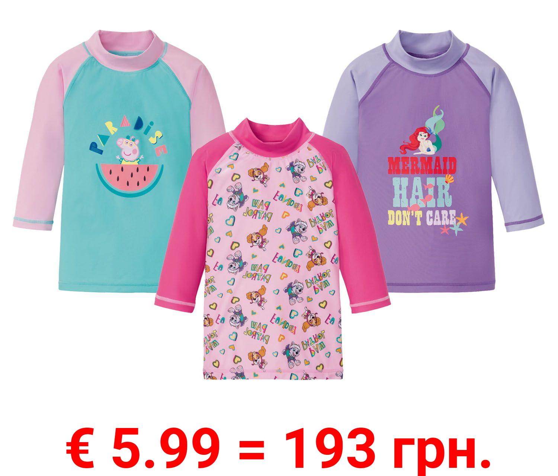 Kleinkinder UV Shirt Mädchen, mit Elasthan