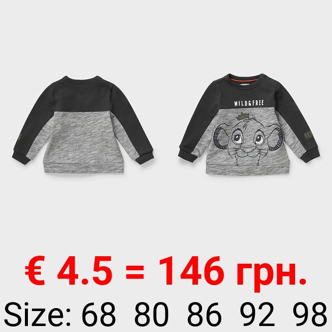 Der König der Löwen - Baby-Sweatshirt - Bio-Baumwolle