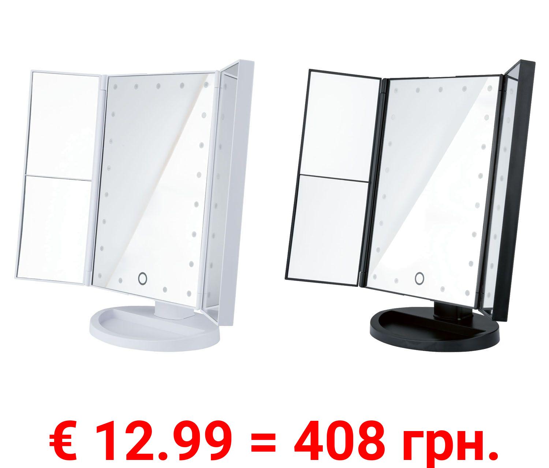 MIOMARE® LED Kosmetikspiegel, 70 Grad neigbar