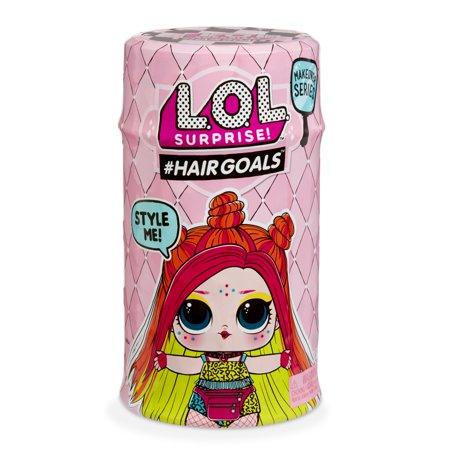 L.O.L. Surprise! Makeover Series 2 #Hairgoals Real Hair w/ 15 Surprises