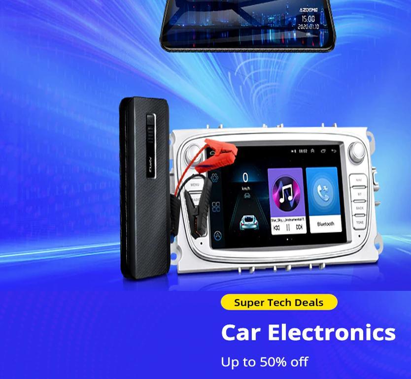 Super Tech Deals: Car's  Electronics