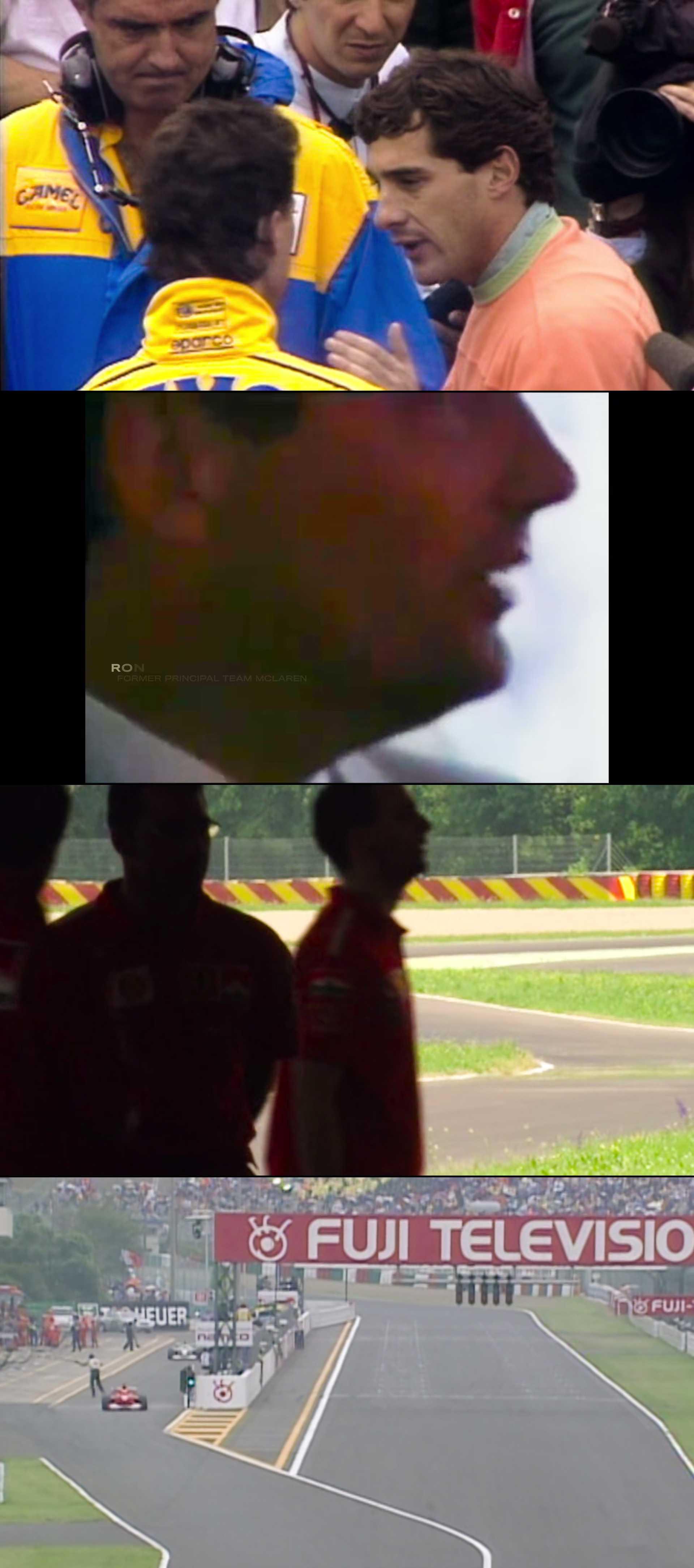 Screenshot of Schumacher Movie