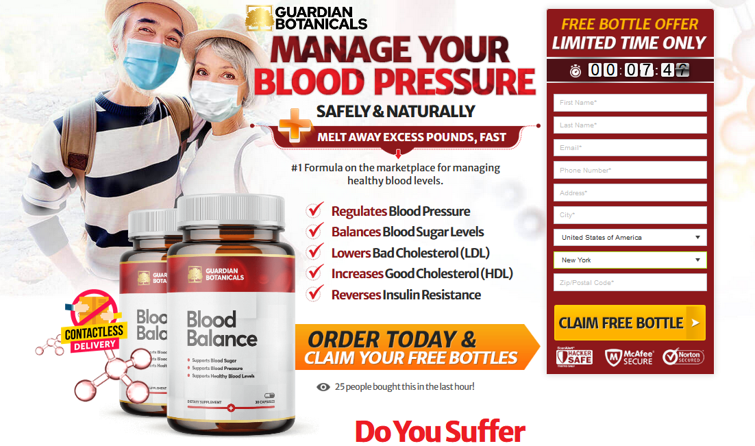 Guardian Botanicals Blood Balance UK: Check Its Benefits + Side-Effects:  Home: Guardian Botanicals Blood Balance UK