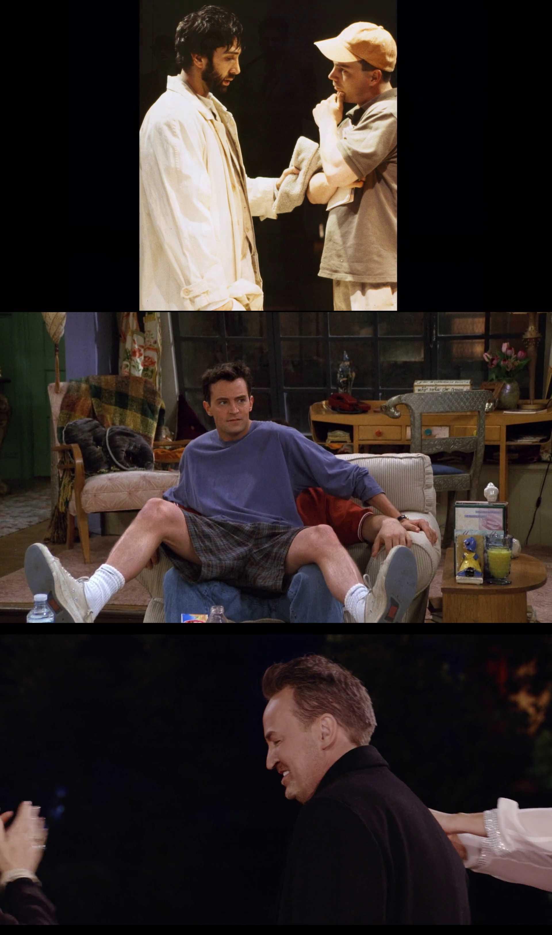 Screenshot of Friends: The Reunion Movie