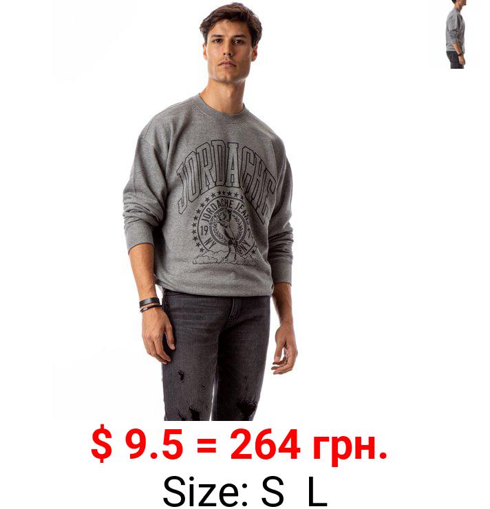 Jordache Vintage Men's Alex Crewneck Sweatshirt, Sizes S-2XL