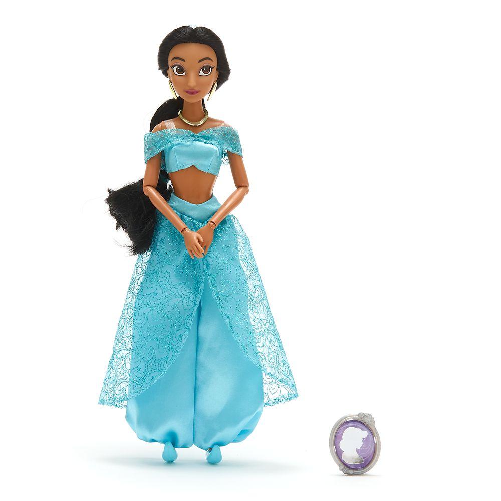 Jasmine Classic Doll with Pendant – 11 1/2''