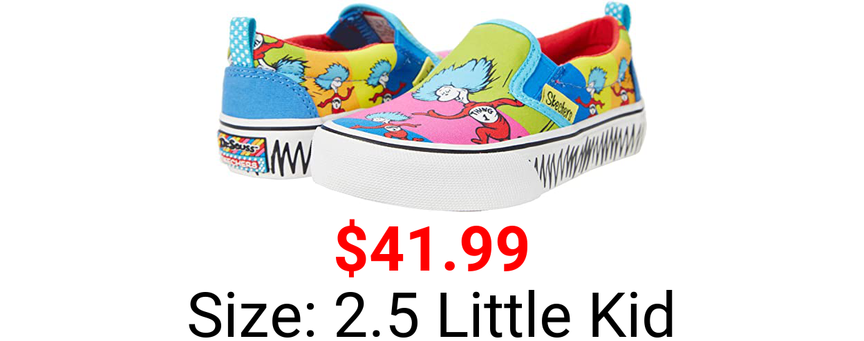 Skechers Girl's Sport - Dr. Seuss - Marley Jr. Things Ran Up 314989L (Little Kid/Big Kid)